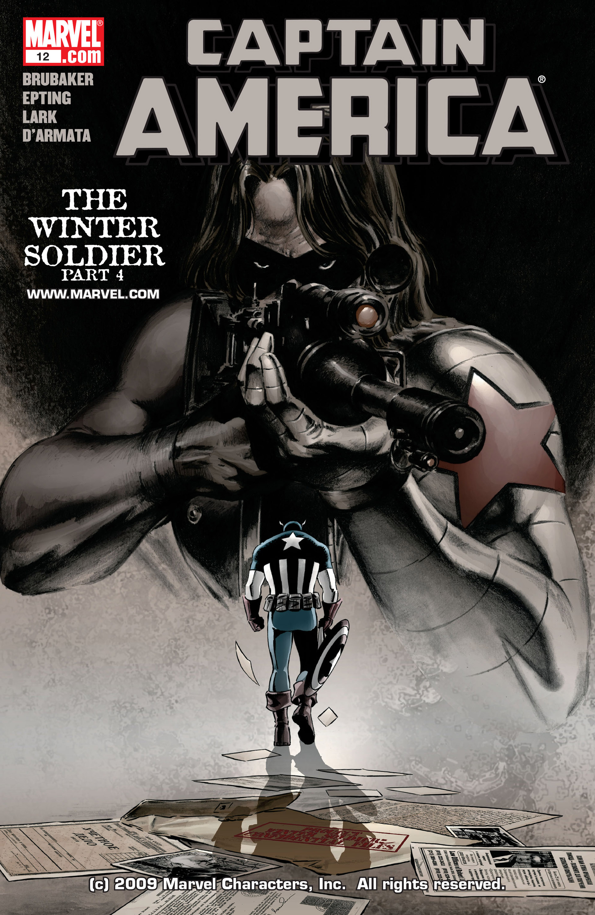 Captain America (2005) Issue #12 #12 - English 1