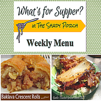 What's For Supper: Menu September 29, 2014