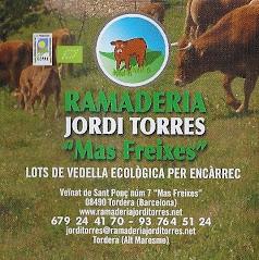 Vedella ecològica de la Ramaderia Jordi Torres