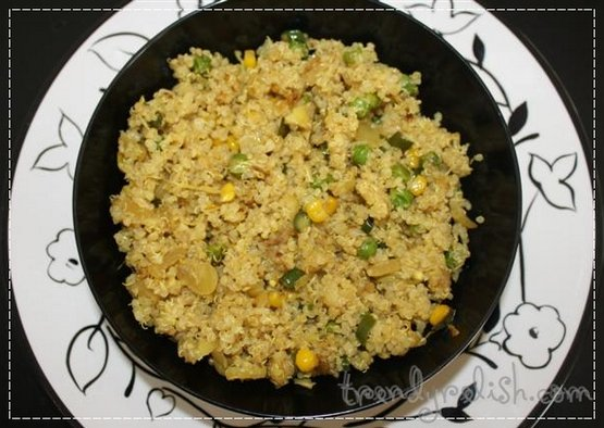 Quinoa Cabbage Pulao