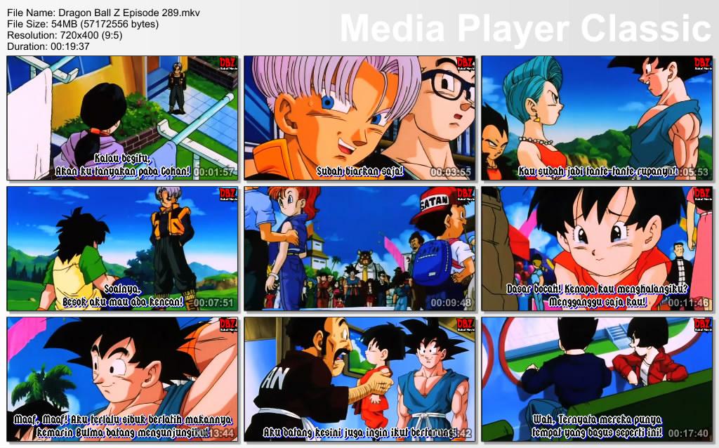 Film / Anime Dragon Ball Z Majin Buu Saga Episode 289 Bahasa Indonesia