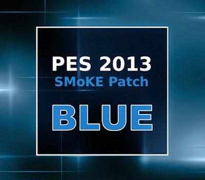 pes 2013 smoke patch blue 5 2 9 with winter transfer 2014 2015 kompi software 32. Black Bedroom Furniture Sets. Home Design Ideas