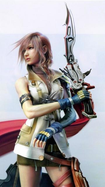Wallpaper Final Fantasy XIII Style