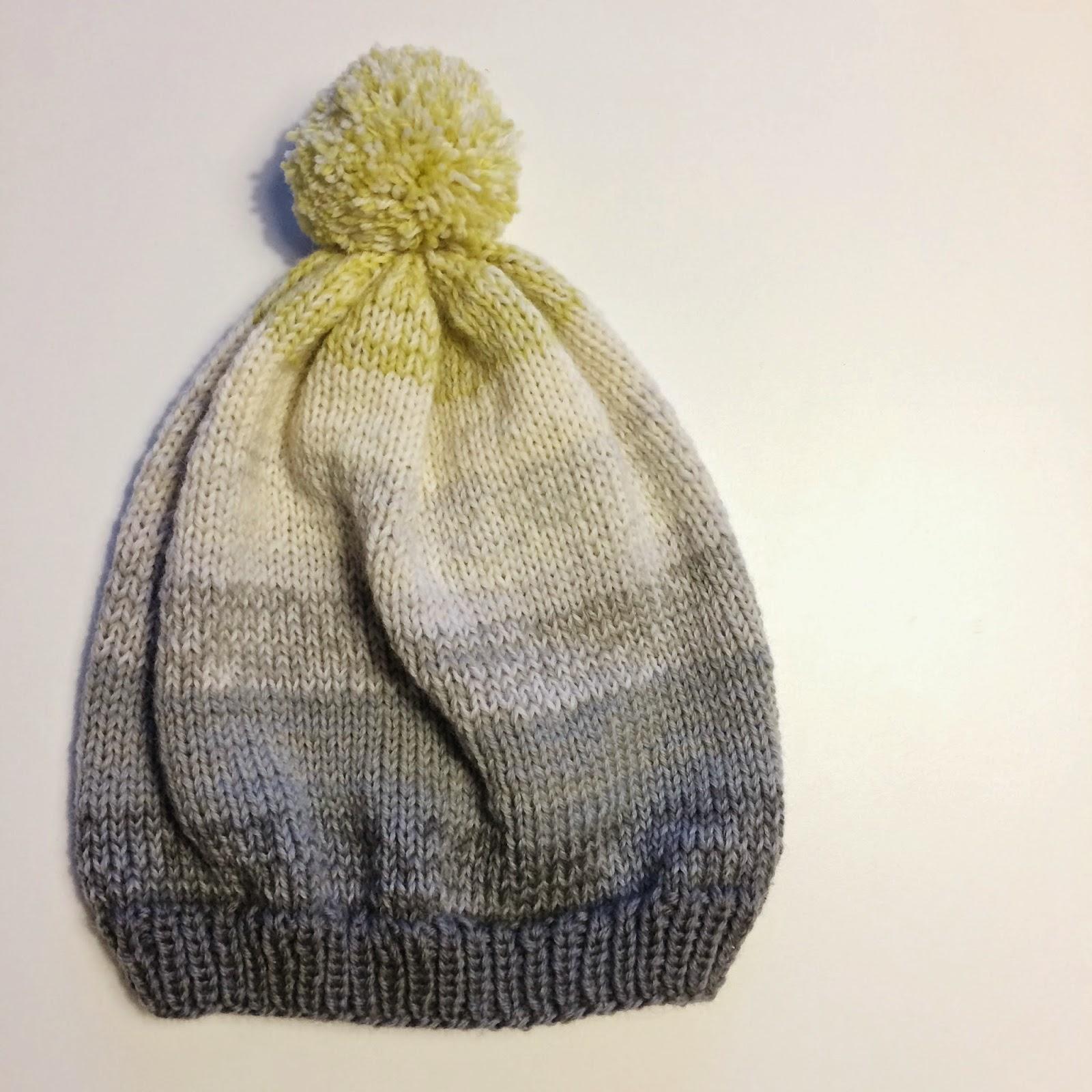 Beanie; easy knitting pattern from Meraki