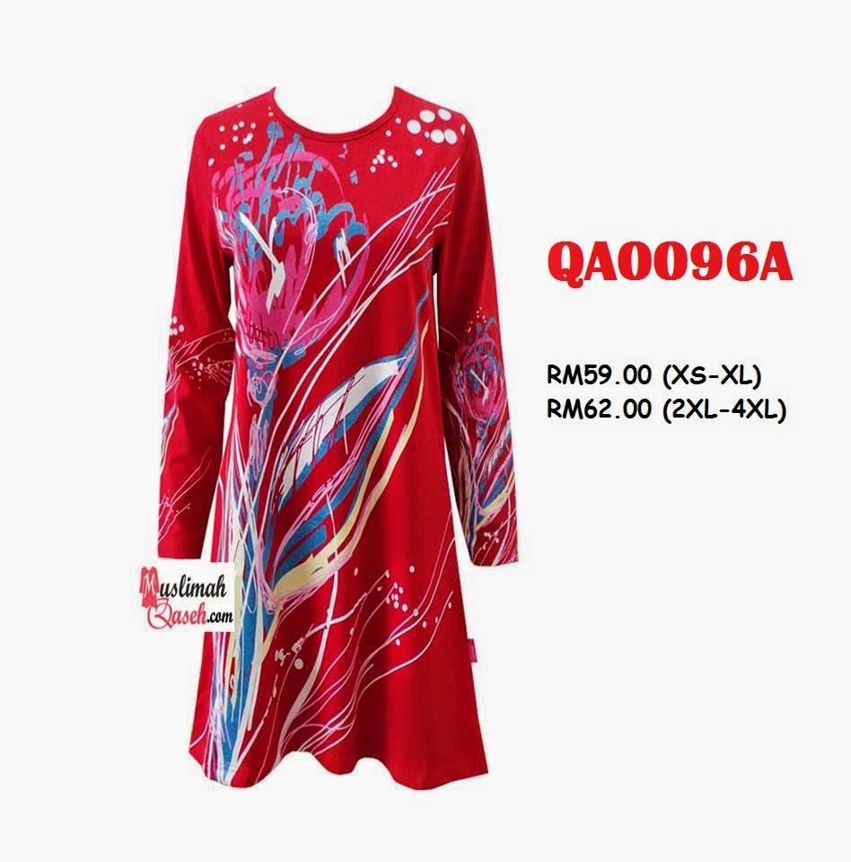 T-Shirt-Muslimah-Qaseh-QA0096A