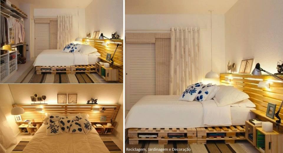Fernanda aprendiz de arquiteta decora o pallet mesa for Bases de cama hechas con tarimas