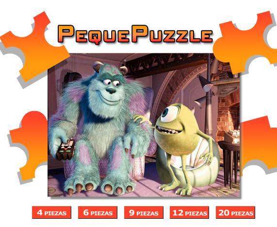 Puzzle Monstruos SA