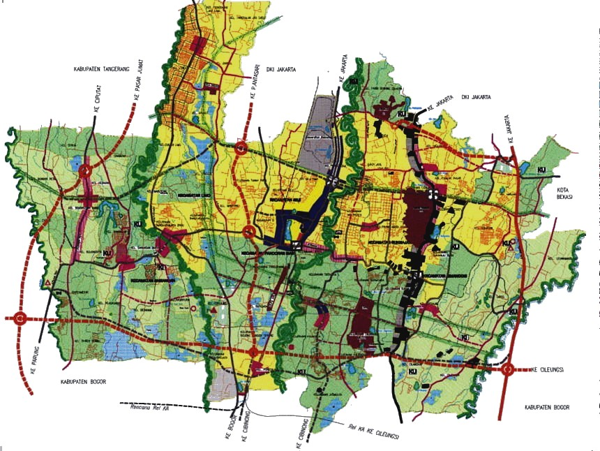 Rencana Jalan Tol Jakarta Jalan Tol Lingkar Luar Jakarta