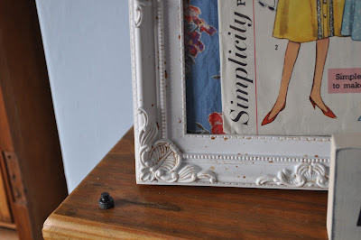 tea bag distrsesed frame http://snadralovesblogging.blogspot.co.uk/