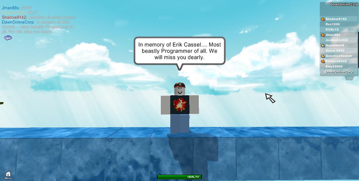 Dawn Online Development Blog In Memory Of Erik Cassel
