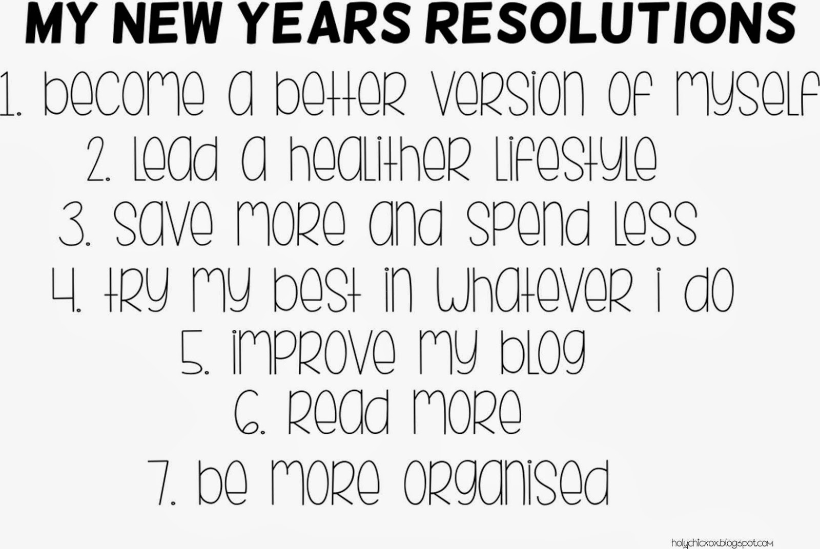 Essay on resolution of new year