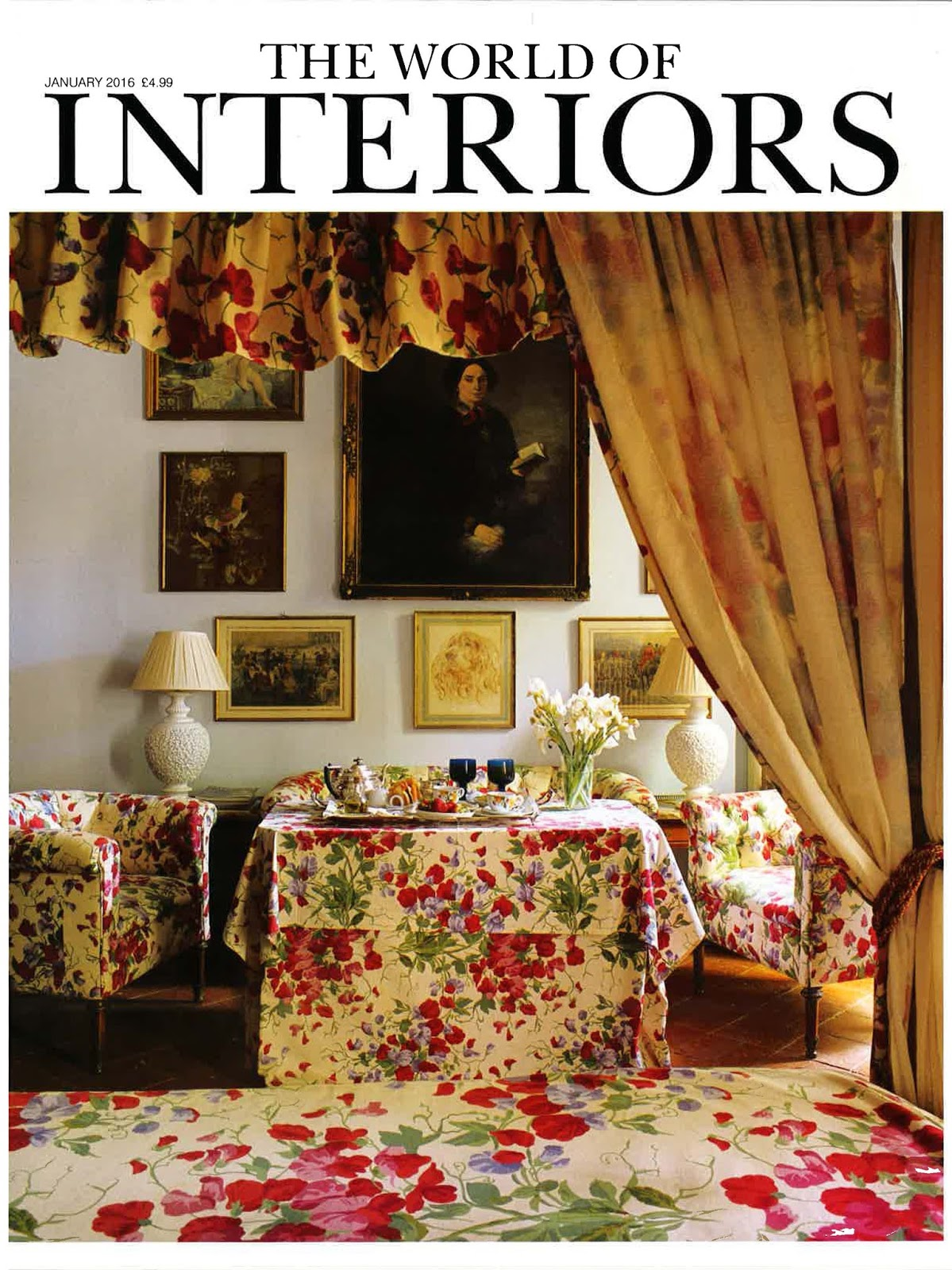 INTERIORS | THE WORLD OF INTERIORS JANUARY 2016 | ALEXANDER ...