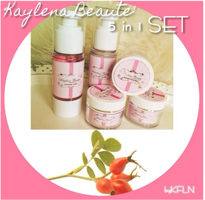 KAYLENA BEAUTE' 5 in 1 SET