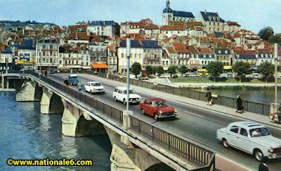 La route nationale 7 dimanche 6 septembre les bouchons for Piscine de joigny