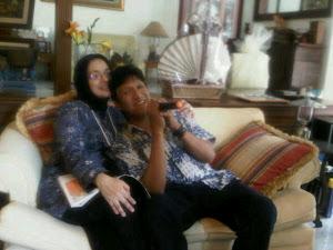 Lebaran Hari ke 3, Ikang Fawzi & Marissa Haque, PAN Yogyakarta.