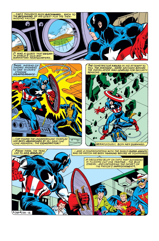 Captain America (1968) Issue #231 #146 - English 7