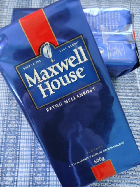 maxwell house kaffe sverige