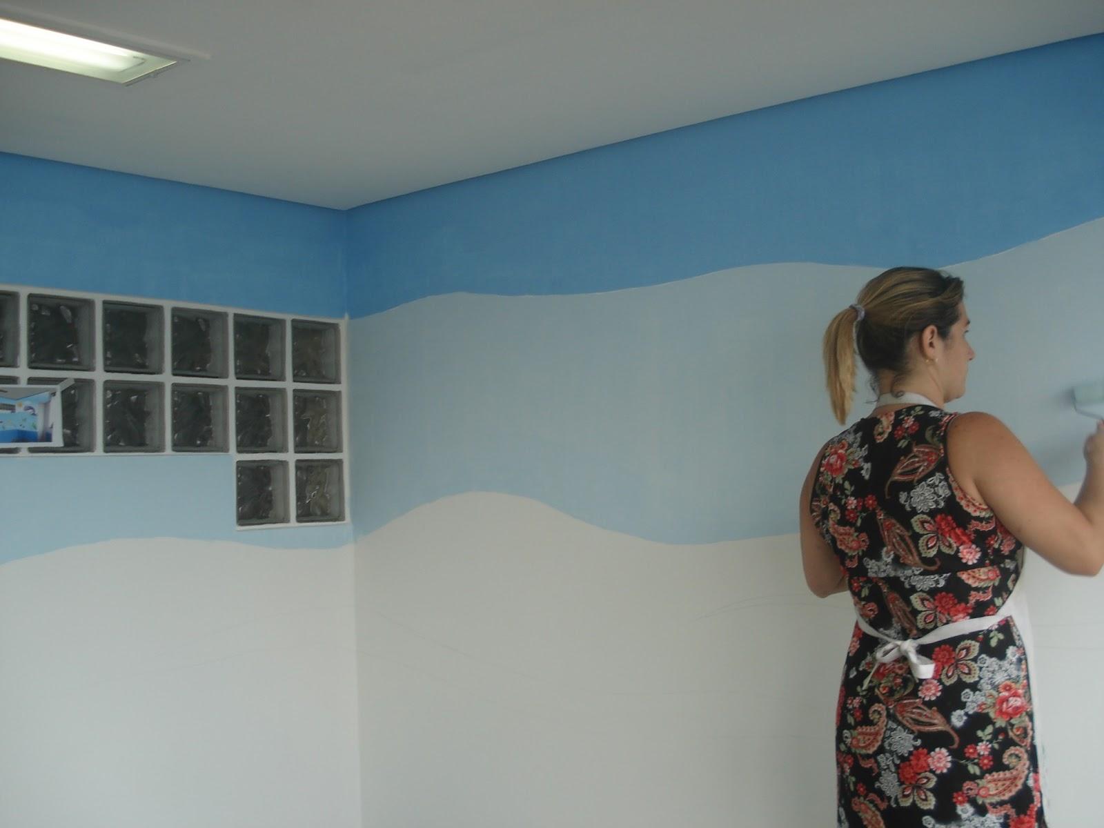 Pintura em parede aeromac pintura em parede 123 - Pinturas especiales para paredes ...