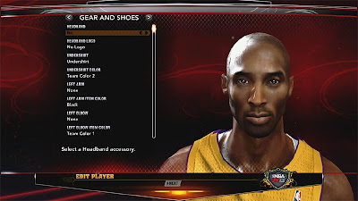 NBA 2K13 Global + Progressive Sweat + Shadow Mod