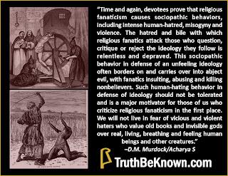 Religious Sociopathy