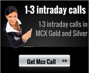 1-3 INTRADAY CALLS IN MCX GOLD AND SILVER