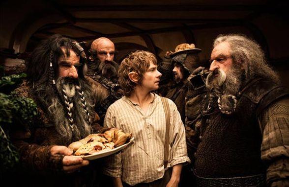 el_hobbit_bilbo_y_enanos