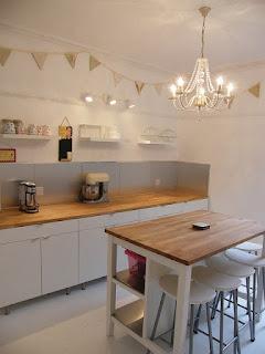 Home baking kitchen