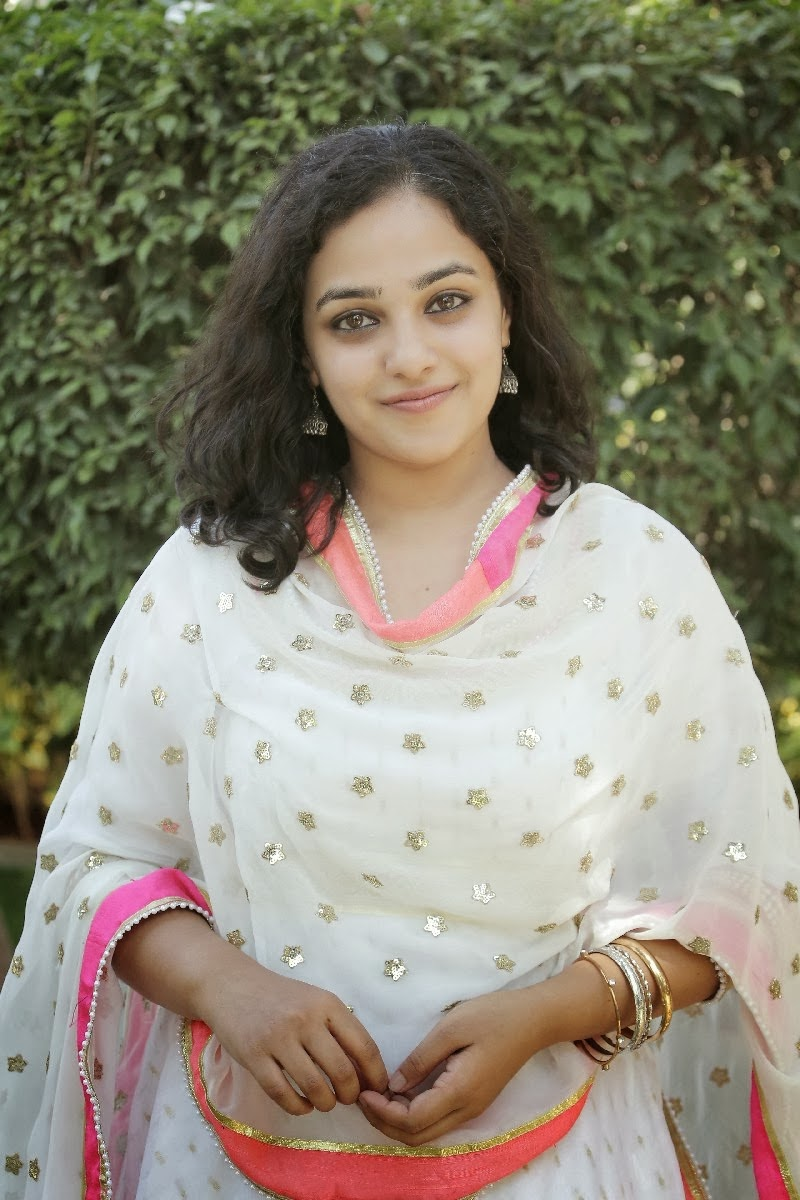 Bangalore Actress Nithya Menon Cute Photos in Shalwar Kameez