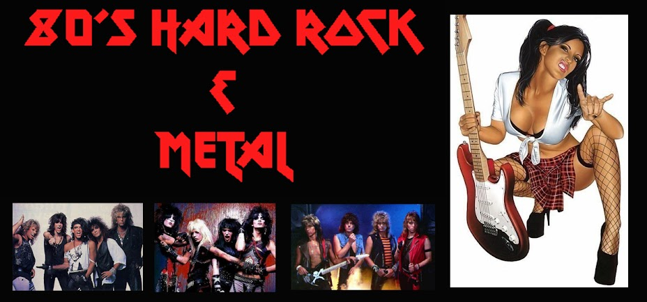80's Hard Rock and Metal Blog