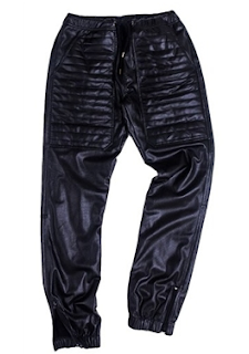 Kite Leather jogging pants