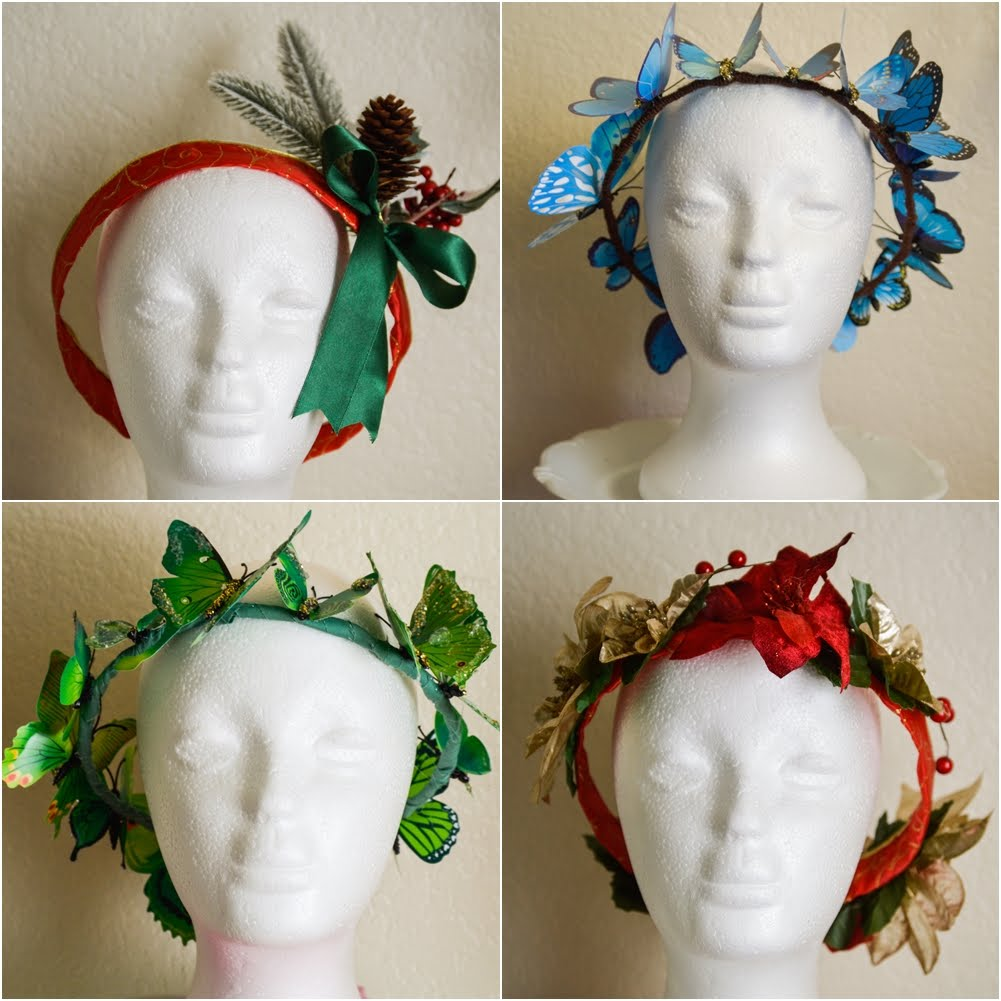 CUSTOM HEADPIECES
