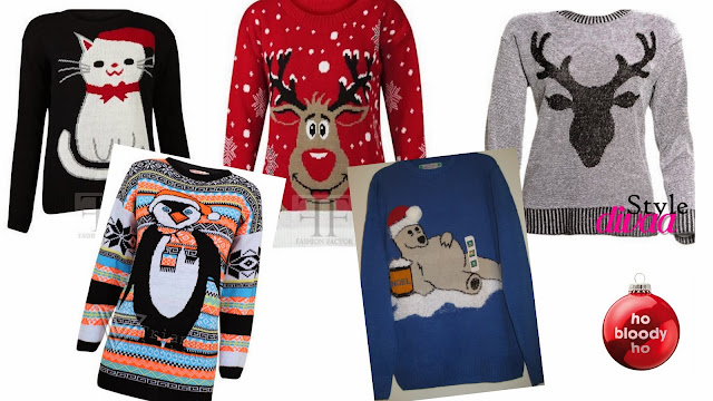 bargain Christmas jumpers