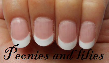 elegant touch flawless french manicure kit peonies and