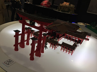 LEGO Itsukushima Shrine Front