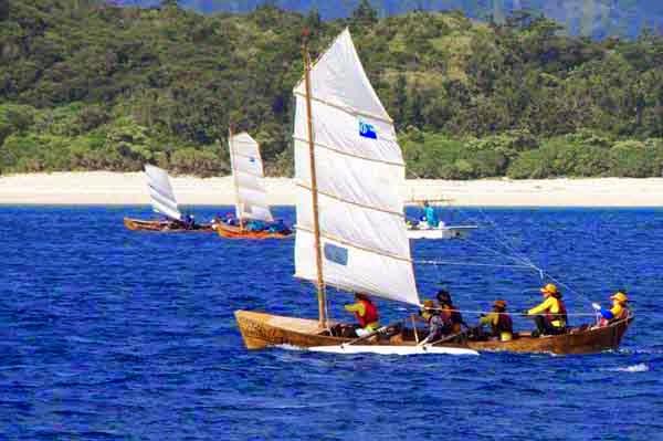 Sabani boats race