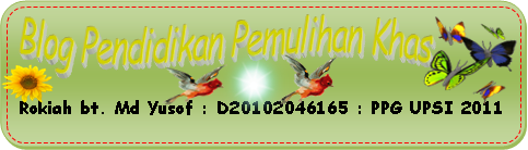 Blog Pendidikan Pemulihan Khas  Bahasa Melayu