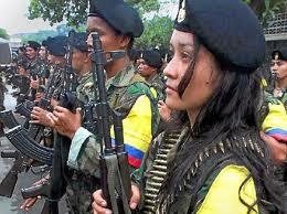 SALUDAMOS LA LUCHA COMBATIVA DE LAS FARC.