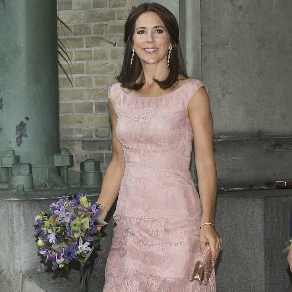 Crown Princess Mary of Denmark participates in celebration dinner and presentation of the Carlsberg Foundation Research Awards 2015
