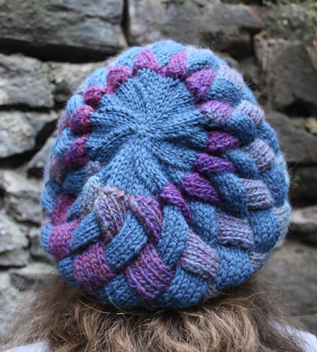 Knitting Stitch Patterns Entrelac : Cute Knitting: Free Entrelac Beret Knitting Pattern, source Lionbrand.com