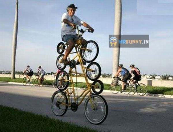 Amazing Cycle Funny Bicycling