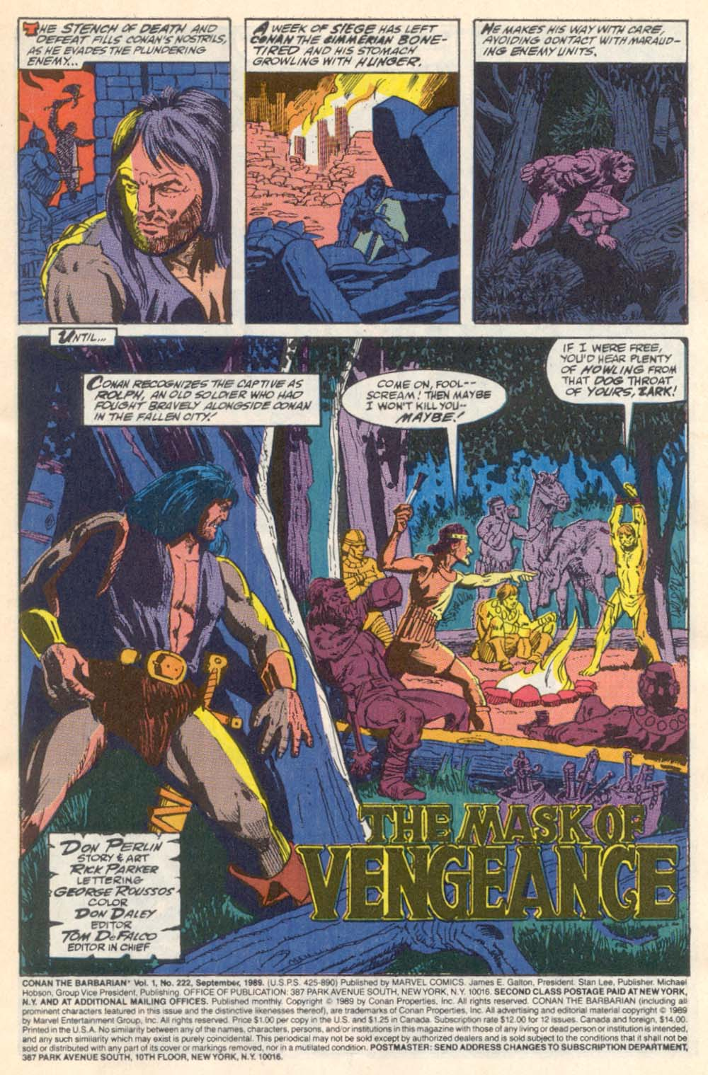 Conan the Barbarian (1970) Issue #222 #234 - English 2