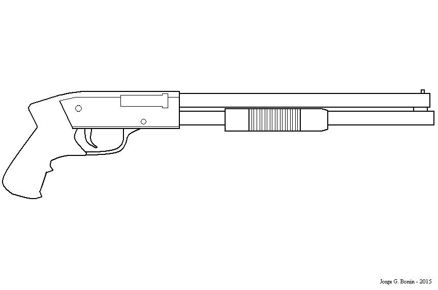 Kleurplaat Gun Sniper Comment Dessiner Des Armes