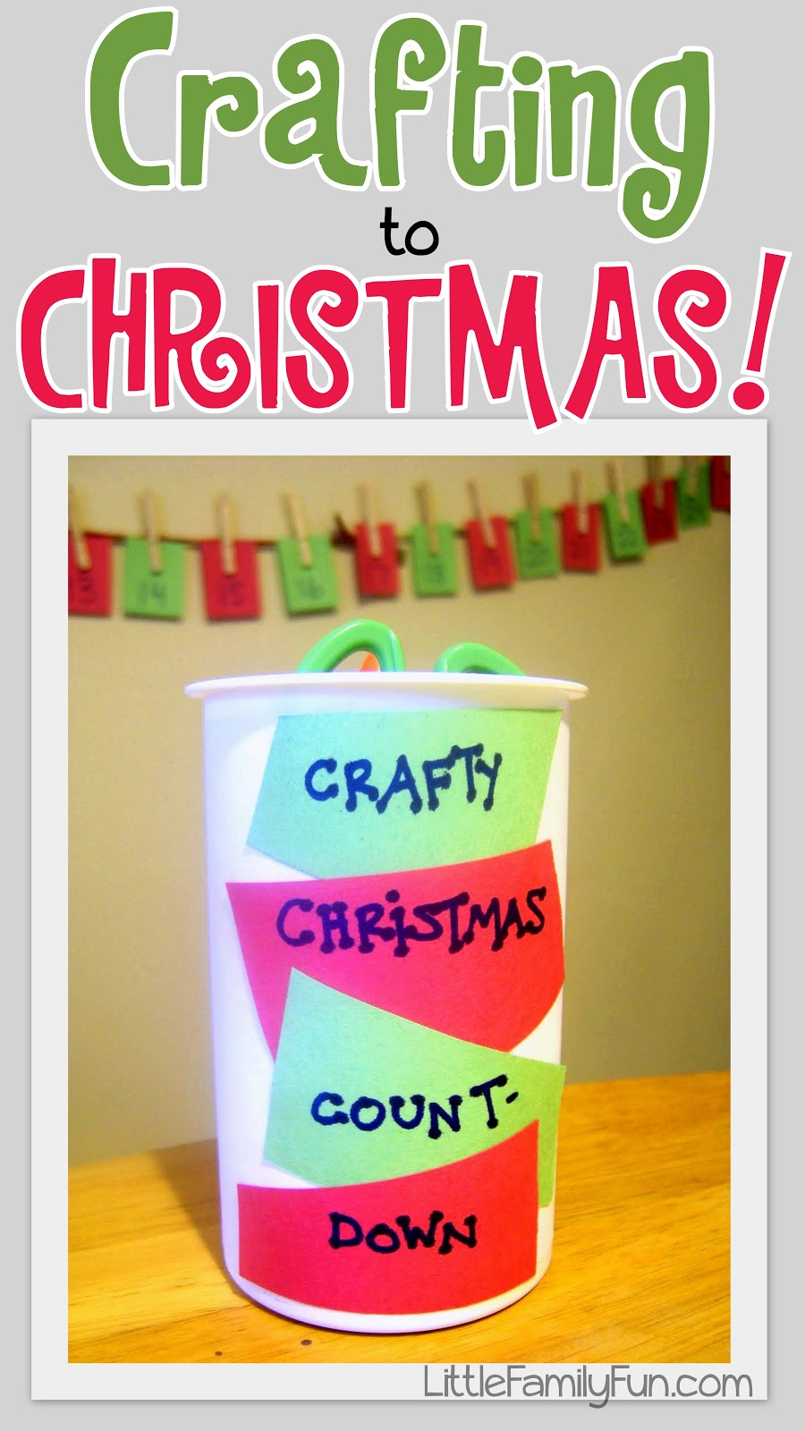 Countdown To Christmas Craft Ideas Part - 45: Christmas Craft Countdown!