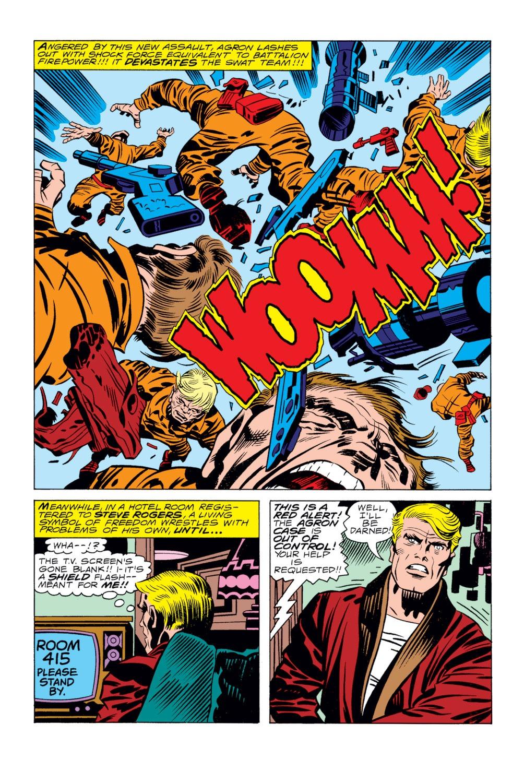 Captain America (1968) Issue #205 #119 - English 9