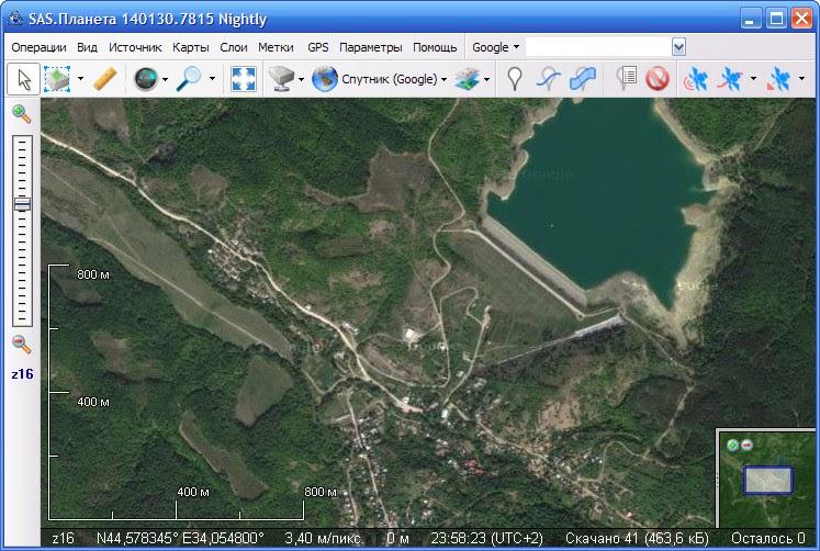 Программа Спутниковая Карта Скачать