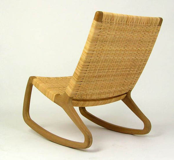 SP210 - Simple Design Rocking Chair  Best Furniture Gallery