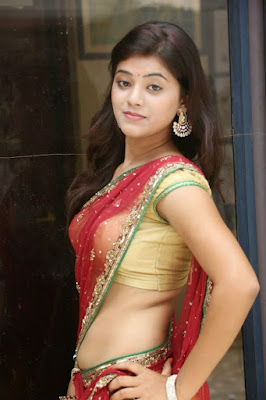 Saree blouse Telugu actress navel