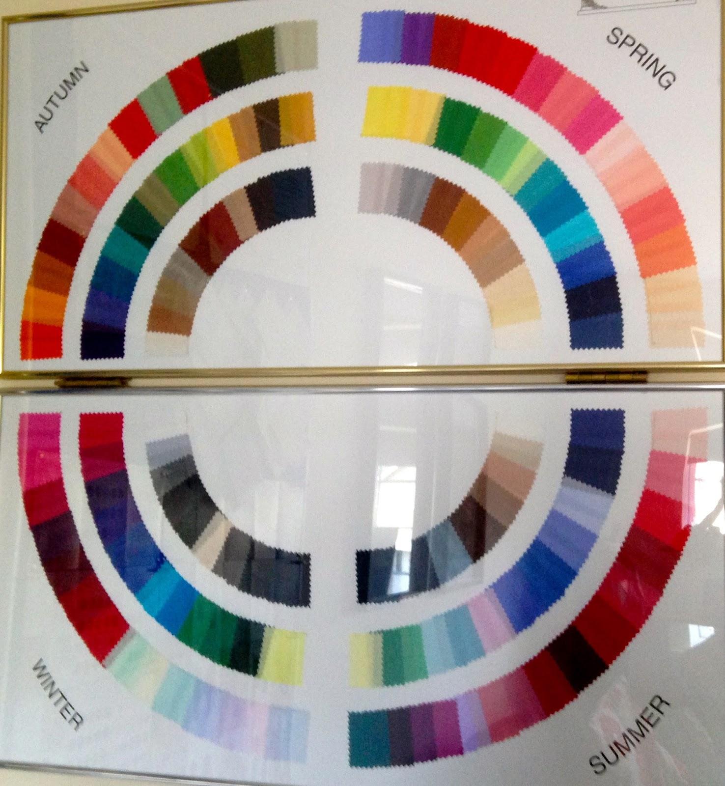 House Of Colour Colour Wheel Winter Colors Pinterest
