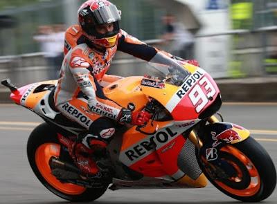 Marquez Tercepat di Sesi Latihan Pembuka MotoGP Silverstone