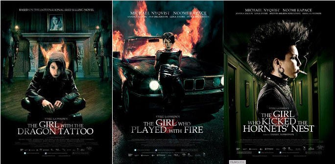My horror the girl with the dragon tattoo series for The girl with dragon tattoo movie